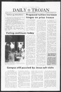 Daily Trojan, Vol. 64, No. 17, October 14, 1971