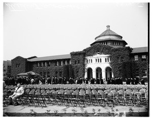 City college graduation, 1951