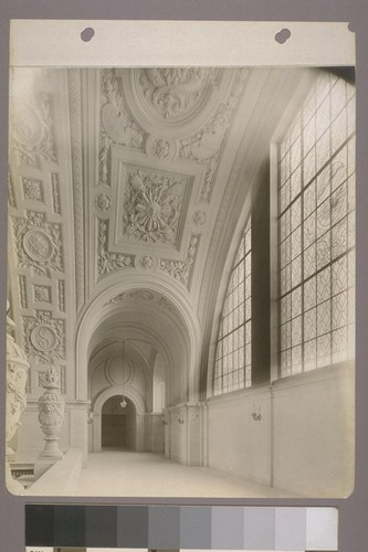 [Arched windows and gallery.]