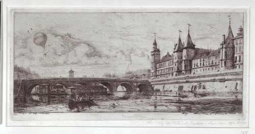 Le Pont-au-Change (The Exchange Bridge, Paris)