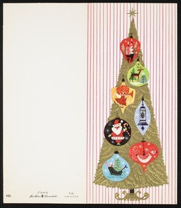 Christmas card from Eileen Chang to C.T. Hsia, ca. 1968
