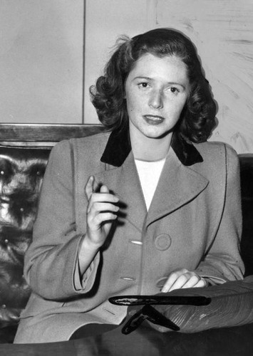 Joan Barry in court