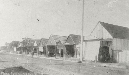 Early Ventura's Chinatown : 1890