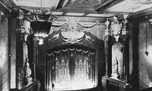 Interior of the West Coast Theatre