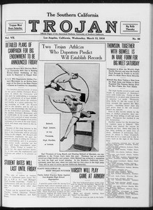 The Southern California Trojan, Vol. 7, No. 86, March 15, 1916