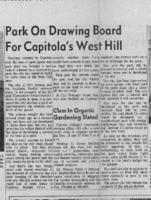 Park on drawing board for Capitola's West Hill