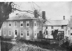 Lancaster, Massachusetts, homestead of Luther Burbank where Burbank was born March 7, 1849