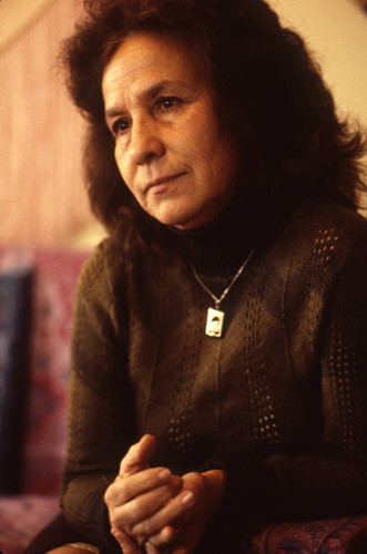 Portrait of Rosario Ibarra de Piedra, Mexico City, 1981