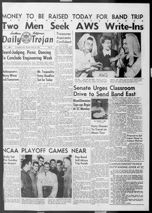 Daily Trojan, Vol. 45, No. 96, March 18, 1954