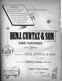 Benj. Curtaz & Son danse fantastique / by J.A. Zander
