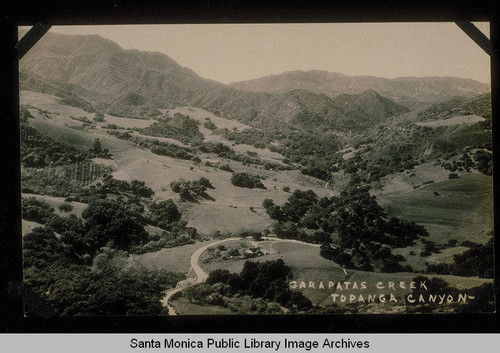 Garaptas Creek in Topanga Canyon, Calif