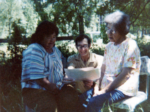 Maidu Elders Association Meeting--(left to right : Martha Rose Nole, Don Storm, and Geraldine Dawson)