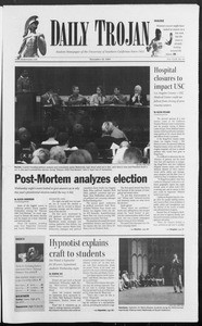 Daily Trojan, Vol. 153, No. 61, November 18, 2004