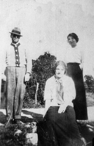 Henry and Alta Sanders and Sophia Gerson