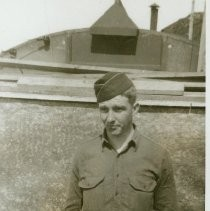 Ed Sayre During WWII