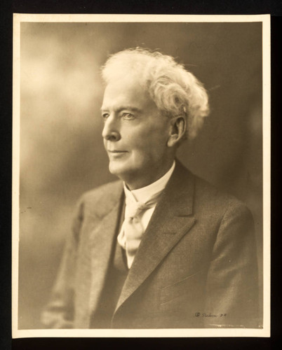 Luther Burbank Portrait Age 74, 1923