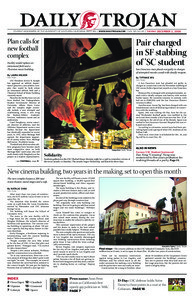 Daily Trojan, Vol. 165, No. 65, December 02, 2008