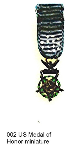 US Medal of Honor miniature