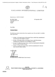 Us Customs Seizure Letter.Calisphere Letter From Norman Jack To Mike Clarke