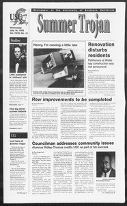 Summer Trojan, Vol. 125, No. 10, July 19, 1995