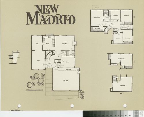 New Madrid Casa Sarga Plan 67 Floor Plan And Exterior Renderings