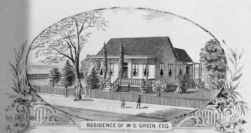 Residence of W. S. Green Esq