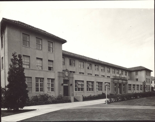 Frontal View of Kenna Hall