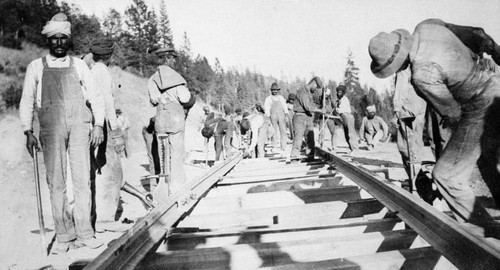Hindu Labor on Railroad