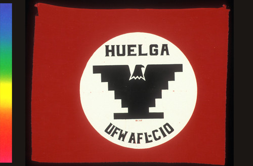 Flag for Huelga - RCAF - UFW AFL-CIO