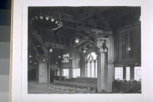 First Church of Christ, Scientist, Berkeley: [interior, view of sanctuary]