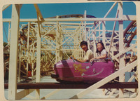 Wild Mouse Rollercoaster at the Boardwalk