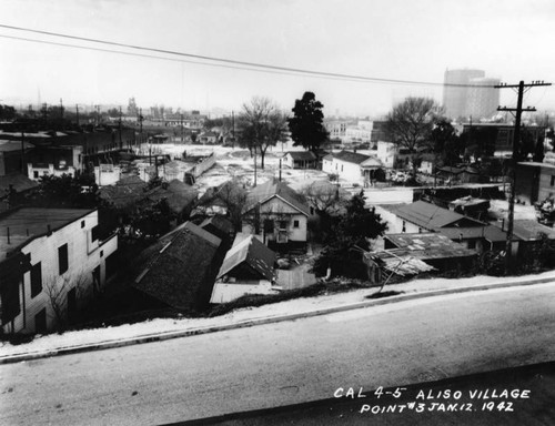 Building of Aliso Village, view 30