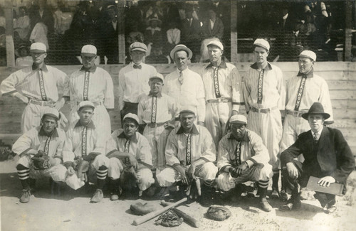 Early Beaumont baseball team near Banning, California