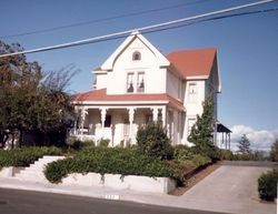 Strout House at 253 Florence Street in Sebastopol, California