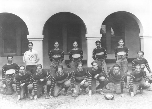 1923 Visalia Union High School Lightweight Football Team, Visalia, Calif