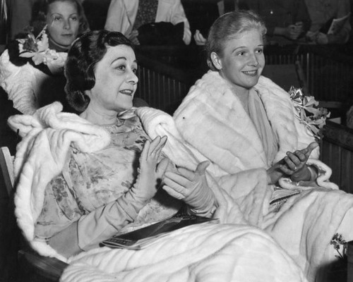 Ann Harding and Frances Marion
