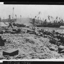 Calisphere: World War II Pacific Theater Beach Heads and