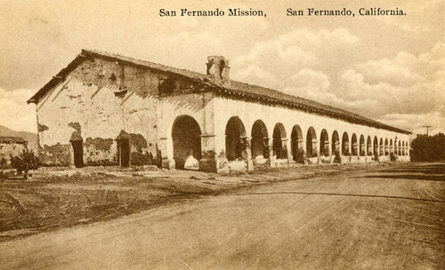 San Fernando Mission, main building, undated