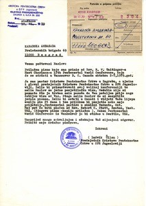 Ludvik Üllen's letter to the Canadian Embassy