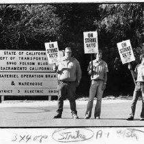 Caltrans strikers