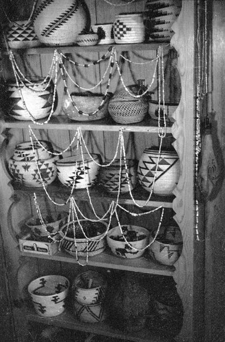 Maidu basket collection (variety of sizes and shapes)