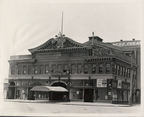 [Photograph of Van Ness Theatre]