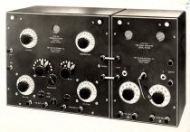 Colin B. Kennedy type 525 two stage amplifier and type 220 intermediate wave receiver, ca 1922-25