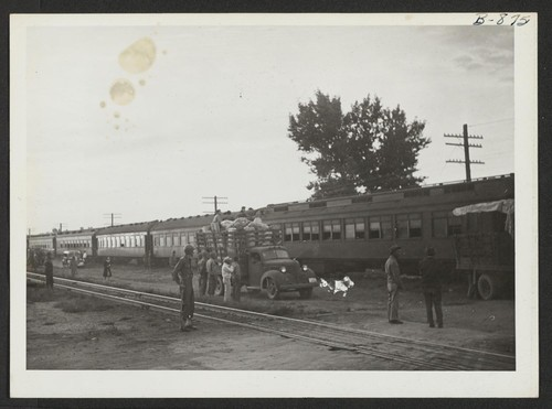 Views of the train from Tule. Photographer: McClelland, Joe Amache, Colorado