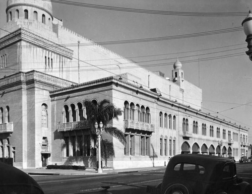 Shrine Civic Auditorium exterior