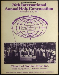 76th Annual Holy Convocation of the Church of God in Christ