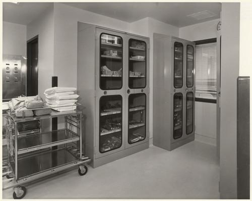 [Medical Storage Cabinets At Holy Cross Hospital, 15031 Rinaldi St., Mission  Hills