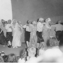 Harmony Club Square Dancers perform for audience