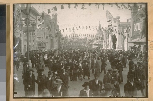 P.P.I. [Panama-Pacific International] Exposition Opening Day 1915