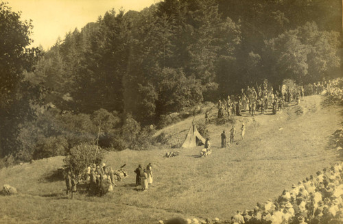 The 1921 Mountain Play, Tamalpa, written by Dan Totheroh and performed on Mount Tamalpais [photograph]